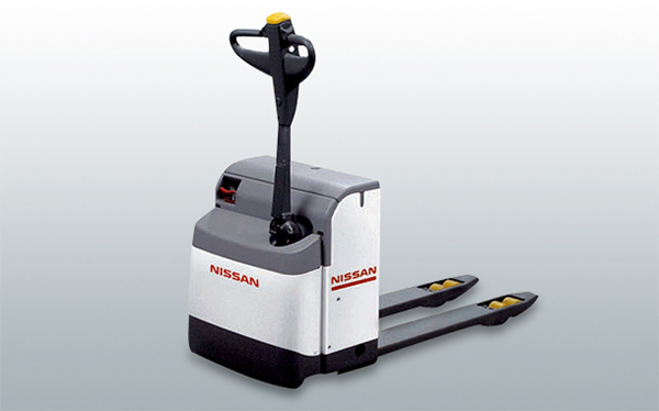 Xe nâng pallet dong tay - nissan pallet truck