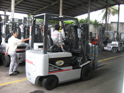 2.5 ton Electronic Forklift RNF